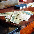 Bank Checks Dated 1923 by Susan Savad