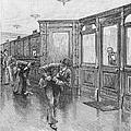 Bank Snatcher, 1890 by Granger