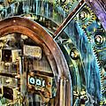 Bank Vault Door by Clare VanderVeen