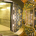 Bank Vault Doors Leading To Safety Deposit Boxes by Adam Crowley