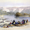 Banks Of The Jordan, 1839, Lithograph by Everett