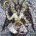 Baphomet Mosaic by Paul Van Scott