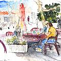Bar Avenida En El Albir In Spain by Miki De Goodaboom