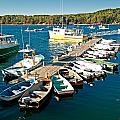 Bar Harbor Boat Dock by Paul Mangold