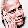 Barack Obama by A Karron