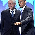 Barack Obama, Bill Clinton by Everett