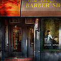 Barber - Ny - Greenwich Village - West Village Barber Shop  by Mike Savad