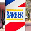 Barber Sign by Tom Gowanlock