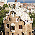 Barcelona Parc Guell by Matthias Hauser