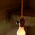 Bare Bulb Swinging by LeeAnn McLaneGoetz McLaneGoetzStudioLLCcom