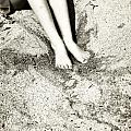 Barefoot In The Sand by Joana Kruse