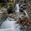 Baring Creek Waterfall And Rapids by Greg Nyquist