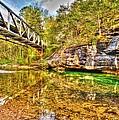 Barkshed Creek Bridge by Kevin Pugh