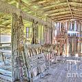 Barn by David  Rusch
