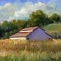 Barn On Lakeville Highway by Sally  Rosenbaum