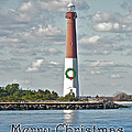 Barnegat Lighthouse - New Jersey - Christmas Card by Mother Nature