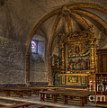 Baroque Church In Savoire France 3 by Clare Bambers