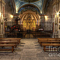 Baroque Church In Savoire France 4 by Clare Bambers
