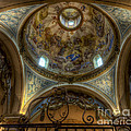 Baroque Church In Savoire France 5 by Clare Bambers