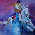 Barrel Racer 2 by Patricia Kness