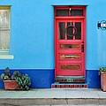 Barrio Door Pink by Mark Valentine