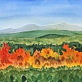 Barton Vermont Autumn by Donna Walsh