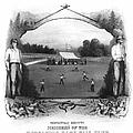 Baseball, 1861 by Granger