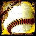 Baseball Abstract by David G Paul