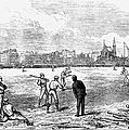 Baseball: England, 1874 by Granger