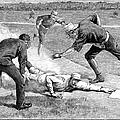 Baseball Game, 1885 by Granger