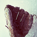 Baseball Glove Vertical by Ruby Hummersmith