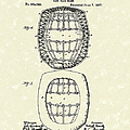 Baseball Mask 1887 Patent Art by Prior Art Design