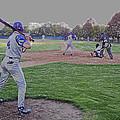 Baseball On Deck Digital Art by Thomas Woolworth