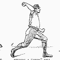 Baseball Pitching, 1889 by Granger