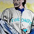 Baseball Player by First Star Art