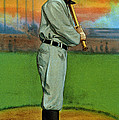 Baseball. Ty Cobb Baseball Card by Everett