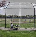Baseball Warm Ups Digital Art by Thomas Woolworth
