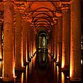 Basilica Cistern by Leslie Leda