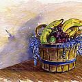 Basket Of Fruit by John D Benson