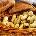 Basket Of Peanuts by Susan Savad
