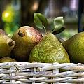 Basket Of Pears by Lori Coleman