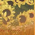 Basket Of Sun Shine Card by Debra     Vatalaro