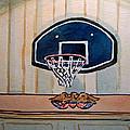 Basketball Hoop Sketchbook Project Down My Street by Irina Sztukowski