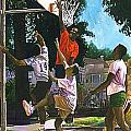 Basketball Players by Jim Gleeson