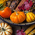 Basketful Of Autumn by Garry Gay