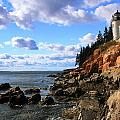 Bass Harbor Head Seascape by Roupen  Baker