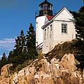 Bass Harbor Light Acadia National Park Maine by Edward Fielding