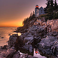 Bass Head Harbor Lighthouse by Gerry Mann