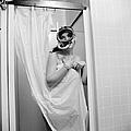 Bathroom Diving by Sherman