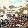 Battle Of Bull Run, 1861 by Granger